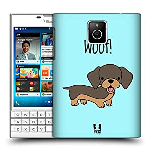 Head Case Designs Dachshund Happy Puppies Hard Back Case for BlackBerry Q10