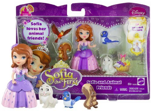 Little Friends First Playset - Sofia and Animal Friends ~3