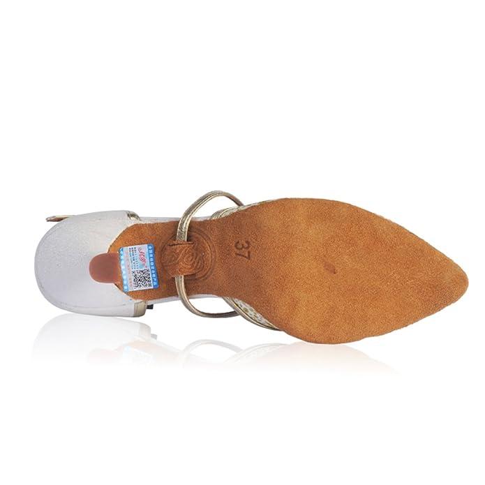 4cf592c30a68a8 Frauen moderne Schuhe GB Waltz Schuhe Die ersten beiden Teile Tanzschuhe  weichen Boden-A Fußlänge 24.8CM(9.8Inch)  Amazon.de  Schuhe   Handtaschen