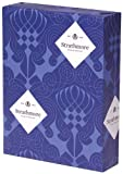 Strathmore Writing 25% Cotton Stationery Paper Wove Finish Natural White Shade Watermarked, 24 lb  8.5x11 Inch 500 Sheets/Ream - Sold as 1 Ream