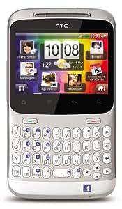 """HTC ChaCha - Smartphone libre Android (pantalla de 2,6"""" 480 x 320, cámara 5 MP, 512 MB de capacidad, procesador de 600 MHz) color blanco [importado de Francia]"""