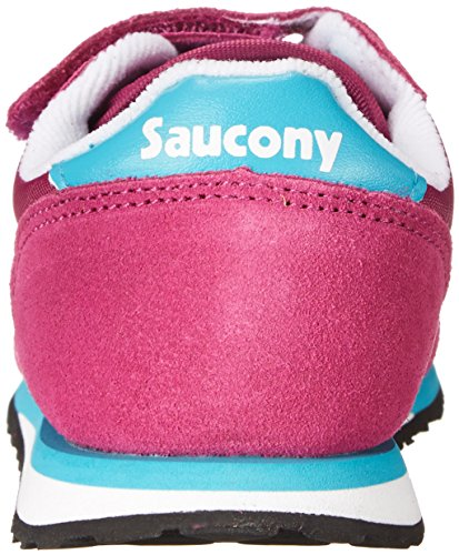 Baby Saucony Jazz Bébé Basses Originals Turquoise HL Fuchsia Baskets Mixte tpUwP