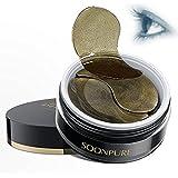金色胶原蛋白眼膜眼罩 - 60 个眼罩 有效去除眼袋、黑眼圈和深度 + 保湿紧致+ 抗皱和*