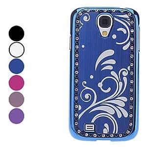 SHOUJIKE Samsung S4 I9500 compatible Special Design Plastic Back Cover , Blue