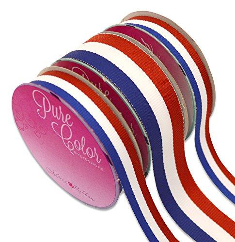 Morex Ribbon American Stripes Polyester