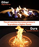 "GASPRO 18"" Round Jet Burner Ring for Natural Gas or"