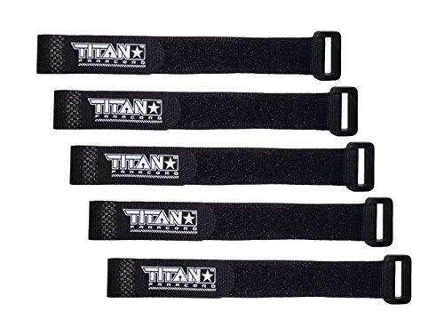 TITAN Paracord Fasteners 5 Pack Black