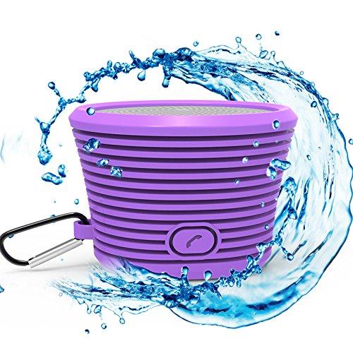 Waterproof Bluetooth Speaker Built Microphone