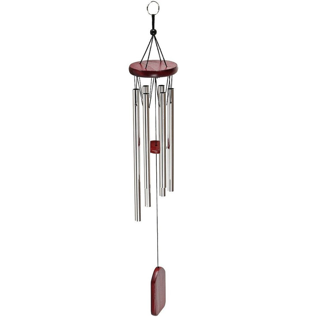 Wind Chime, Windchime Amazing Grace Wind Chimes Bells 6 Metal Tubes Outdoor for Garden, Yard,Patio and Home Decor