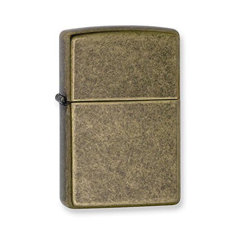 Zippo Antique Brass Lighter - 7