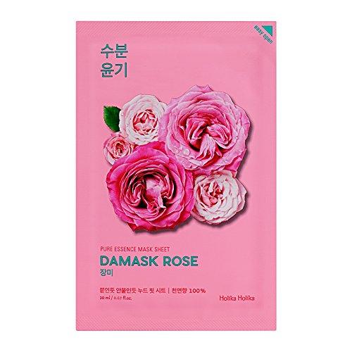 Holika Holika - Pure Essence Mask Sheet Damask Rose gesichtsmaske Korean Kosmetik 20ml / 1pc