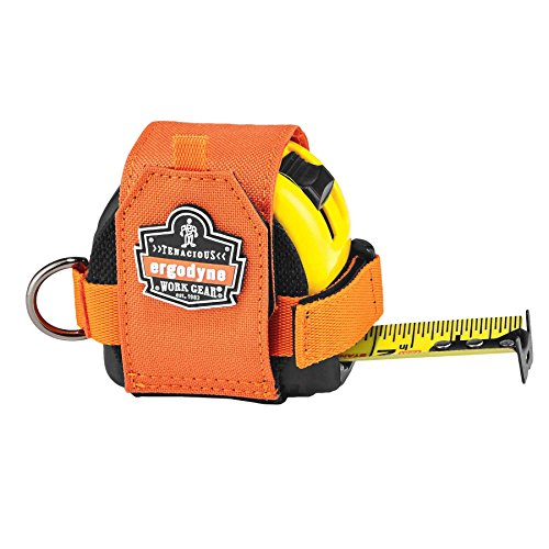 Squids 3770 Tape Measure Holder, Orange by Ergodyne