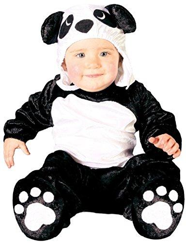 Baby Girls Boys Black White Panda Bear Chinese Animal Fancy Dress Costume Outfit ... (6-12 Months) ()
