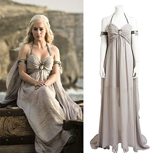 Rubyonly Daenerys Targaryen Cosplay del Traje de Canción de Hielo ...