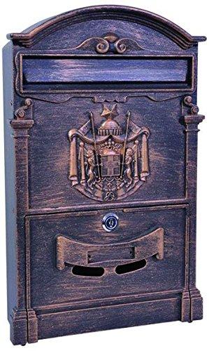 Blinky Residencia 27290–45Letterbox, 26x 9x 41cm, Bronze
