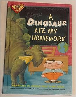 a dinosaur ate my homework