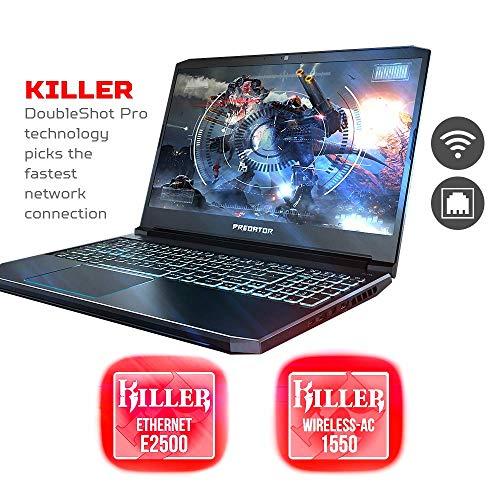 2019 Acer Predator Helios 15.6 FHD IPS Display Gaming Laptop Intel 6-Core i7-9750H 32GB RAM 512GB SSD 1TB HDD NVIDIA GeForce GTX 1660Ti 6GB Backlit Keyboard Windows 10