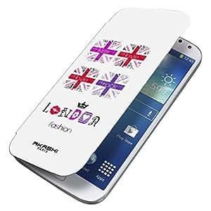 Akali 0055 Carcasas Akashi para Samsung Galaxy Mini S5, Tema: Londres
