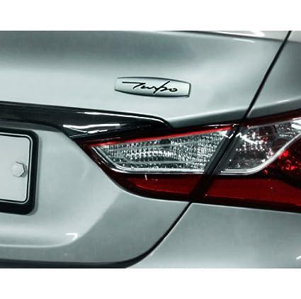 Amazon.com: Detailpart Turbo Emblem Metal chrome 1-pc Set For All Universal Car Fit: Automotive