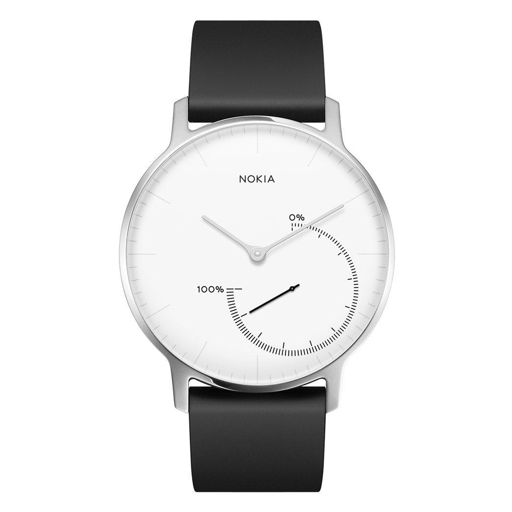 Withings Steel Reloj, Unisex Adulto, White, 36 mm