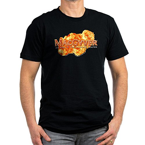 CafePress Macgyver T Shirt Stylish Printed