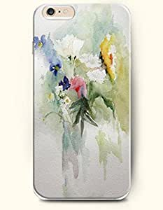 SevenArc Hard Phone Case for Apple iPhone 6 ( 4.7 inches) - Colorful Flower Paint - Oil Painting wangjiang maoyi