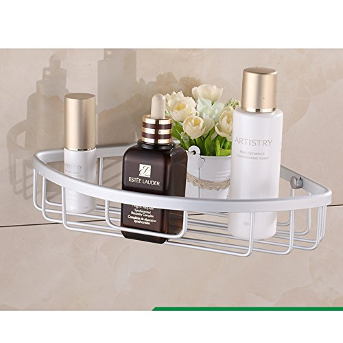 Shelf space aluminum bathroom/ bathroom wall storage rack/ Triangle basket Bathroom Accessories-F chic