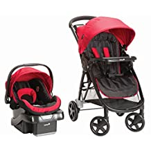 Safety 1st 01005CDGI Step and Go 2 Travel System - Scarlet Red