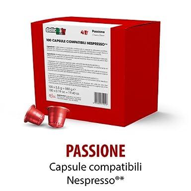 Capsulas Compatibles Nespresso®* Passione 100 ud OFERTA