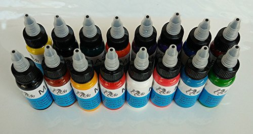 Germany imported DB tattoo tattoo ink black color dye machine tool material supplies permanent tattoo