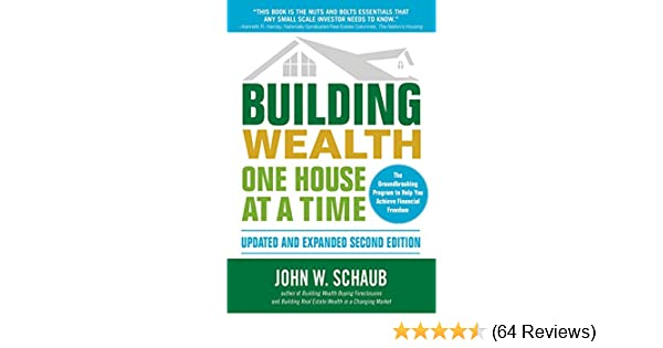 Amazon Building Wealth One House At A Time Updated And