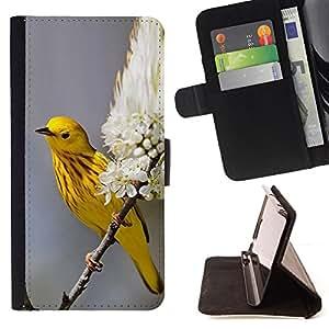 - Queen Pattern FOR Samsung Galaxy S5 Mini, SM-G800 /La identificaci????n del cr????dito ranuras para tarjetas tir????n de la caja Cartera de cuero cubie - yellow spring blossom n