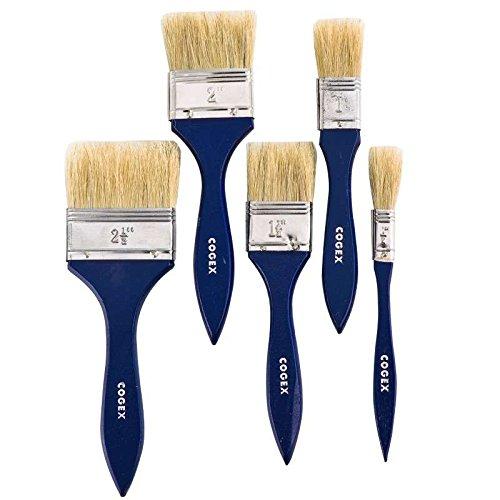 Cogex 58034 - Juego de brochas de pintura (5 unidades)