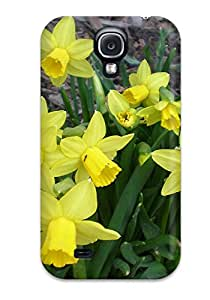 New Arrival Case Specially Design For Galaxy S4 (yellow Flowers )