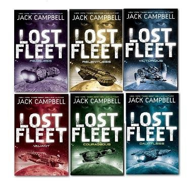 Jack Campbell The Lost Fleet 6 Books Collection Set, (Fearless, Dauntless, Valiant, Relentless, Courageous and Victorious) (Jack Campbell Victorious)