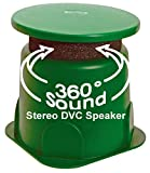 TIC GS4 8'' Outdoor Weather-Resistant Omnidirectional Dual Voice Coil (DVC) In-Ground Speaker (Single)