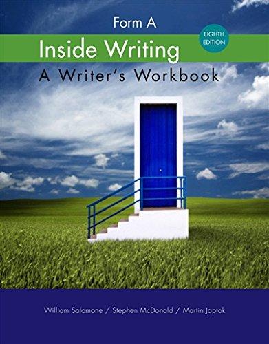 Inside Writing: Form A