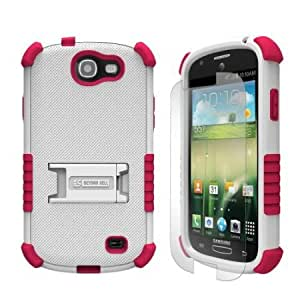 Cerhinu Beyond Cell Tri-Shield Durable Hybrid Hard Shell and TPU Gel Case for Samsung Galaxy Express i437 - Retail Packaging...