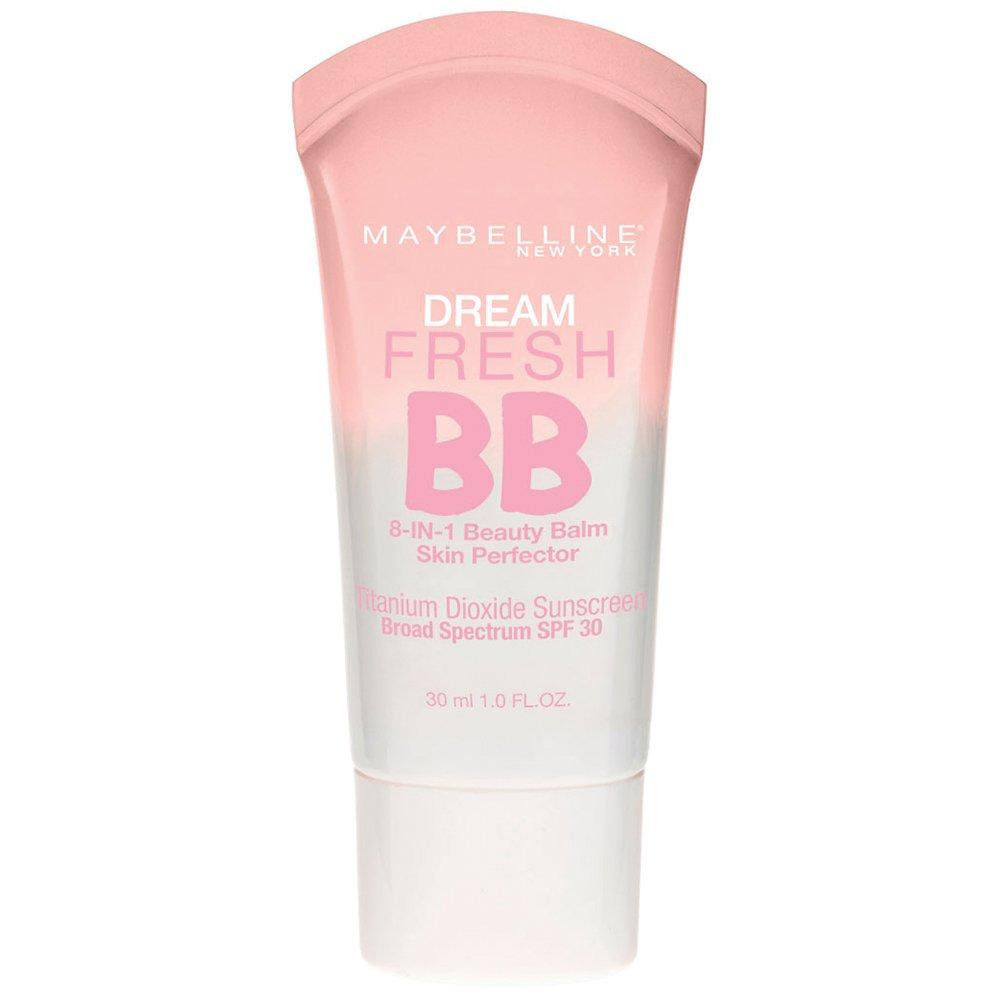 Maybelline Makeup Dream Fresh BB Cream, Light/Medium Skintones, BB Cream Face Makeup, 1 fl oz