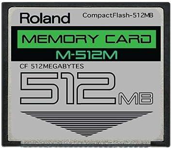 Amazon.com: 512 MB Roland m-512 m CompactFlash CF Tarjeta de ...