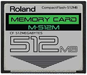 Parts-QUICKBRAND 1GB Compact Flash Card for Roland SP-404