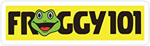 Big Lens store Froggy Stickers (3 Pcs/Pack)