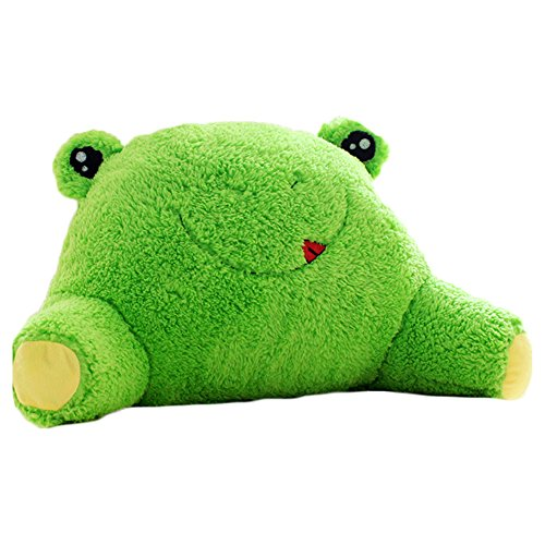 Cute Reading Pillow : Mlotus Cute Frog Bedrest Reading Arm Pillow Back Support Bed Rest Green - Buy Online in UAE ...