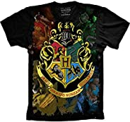 Camiseta Harry Potter Brasão De Hogwarts