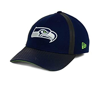 f12fd9b75f66e Amazon.com   Seattle Seahawks Flex Fit Small   Medium Hat Cap - Best ...