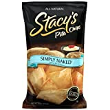 Stacy's Simply Naked Pita Chips, 18-Ounce Bags (Pack of 6)