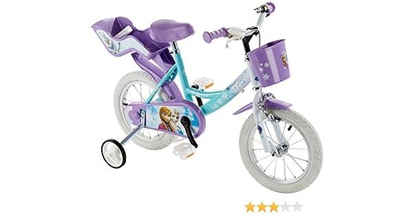 Disney Chicas Frozen Bicicleta de Metal Bolas para niños, Blanco ...