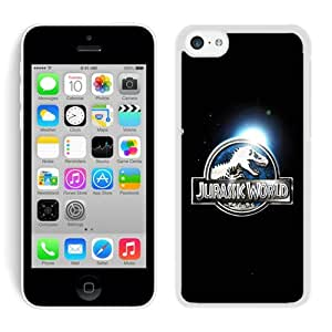 iPhone 5C Case ,Unique And Fashionable Designed Case With Jurassic World White For iPhone 5C Phone Case