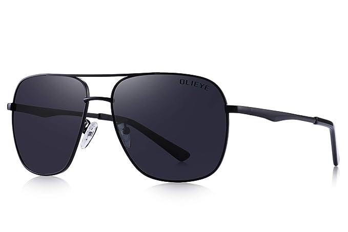 Amazon.com: Olieye Gafas de sol polarizadas para hombre ...