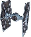 iron on patch star wars - Star Wars / Clone Wars Lucas Movie Novelty Iron On Patch - Die Cut Tie Fighter Applique
